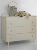 Детский комод Baby Expert CHEST OF DRAWERS AKOYA panna (комод Беби Эксперт)
