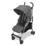 Коляска-трость Maclaren NEW 2018 QUEST DENIM CHARCOAL серый джинс, Newborn Safety System™ (Макларен)