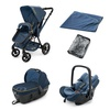 Коляска Concord Wanderer WANDERER TRAVEL SET, цвет Denim Blue, синий (Конкорд)