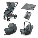 Коляска Concord Wanderer TRAVEL SET 3 в 1, цвет Grey, серый (Конкорд)