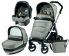 Коляска 3 в 1 Peg-Perego Book Plus silver Modular ELITE Luxe Grey (Пег-Перего)